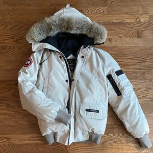 Canada Goose // Chilliwack Bomber Jacket in Sand
